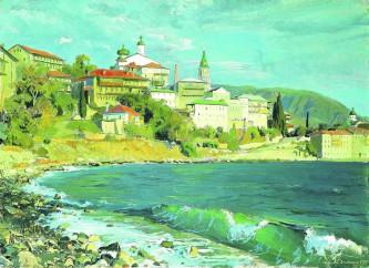 Д.М. Белюкин. Русский монастырь великомученика и целителя Пантелеимона на Афоне (1997 год)