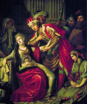 Антон Павлович Лосенко. Владимир и Рогнеда [1770]