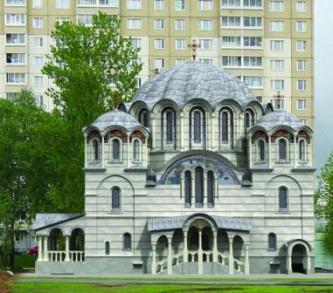 Архитектура этого храма поражает своей необычностью, красотой и смелостью решений