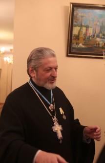 Ключарь кафедрального соборного Храма Христа Спасителя протоиерея Михаил Рязанцев