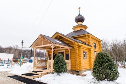 Храм святой равноапостольной великой княгини Ольги в Солнцеве