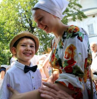Илья Полищук с мамой