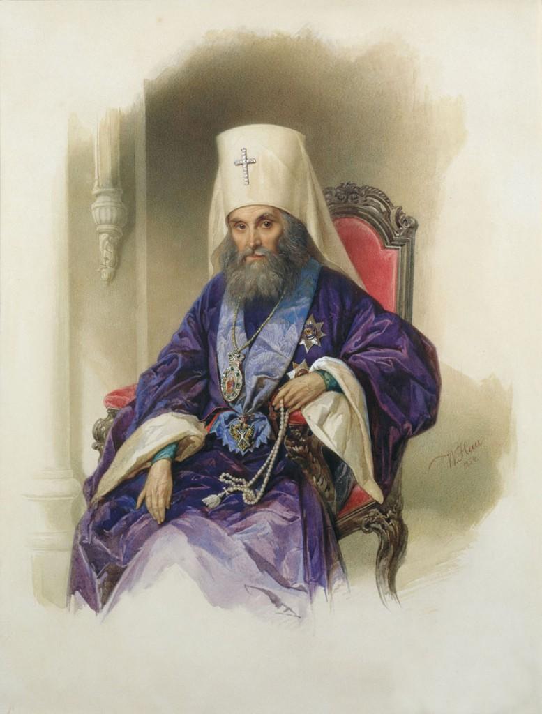 Святитель Филарет, митрополит Московский и Коломенский (Василий Михайлович Дроздов 1782–1867)
