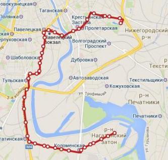 маршрут 47 трамвая москва схема карта Смоленской губернии