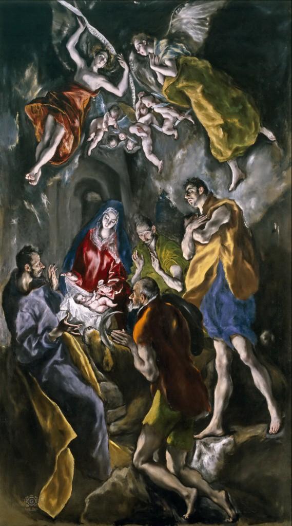 Эль Греко. Поклонение пастухов. 1612–1614. Музей Прадо, Мадрид