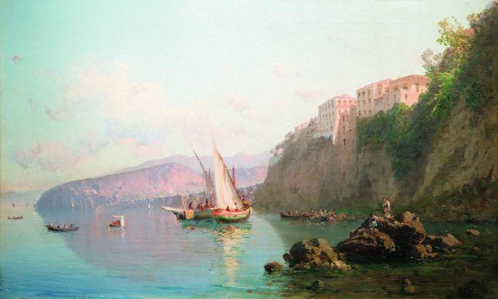 Вид Сорренто 1856
