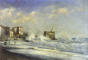 Ментона Буря 1881
