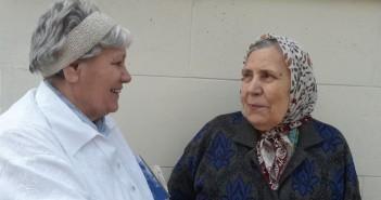 Фото 2015. Лидия Дмитриевна и Мария Дмитриевна.