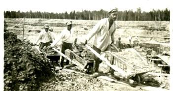 Бригада тачников. 1934 год