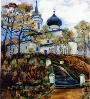 Святогорский монастырь. 1998 год