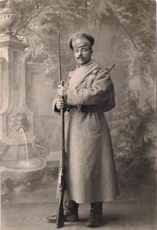 Русский солдат времен Первой мировой войны