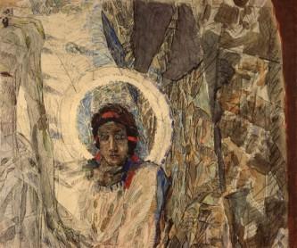 Михаил Врубель. «Голова ангела». 1889. Фрагмент композиции «Воскресение»