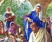 ЖЕНЩИНА ПОМАЗЫВАЕТ ГЛАВУ ИИСУСА ДРАГОЦЕННЫМ МИРОМ
